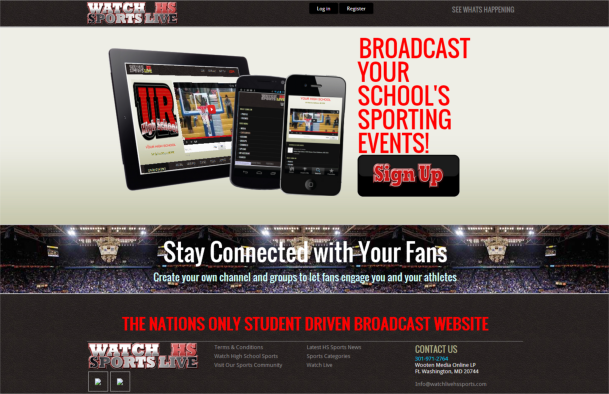 AleXavior Studios - Web Design - Watch Live HS Sports.com